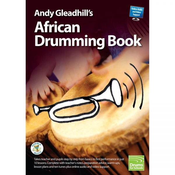 Andy Gleadhills African Drumming Book 1 audio cover