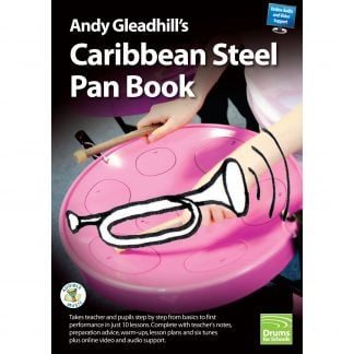 Andy Gleadhills Caribbean Steel Pan Book audio cover