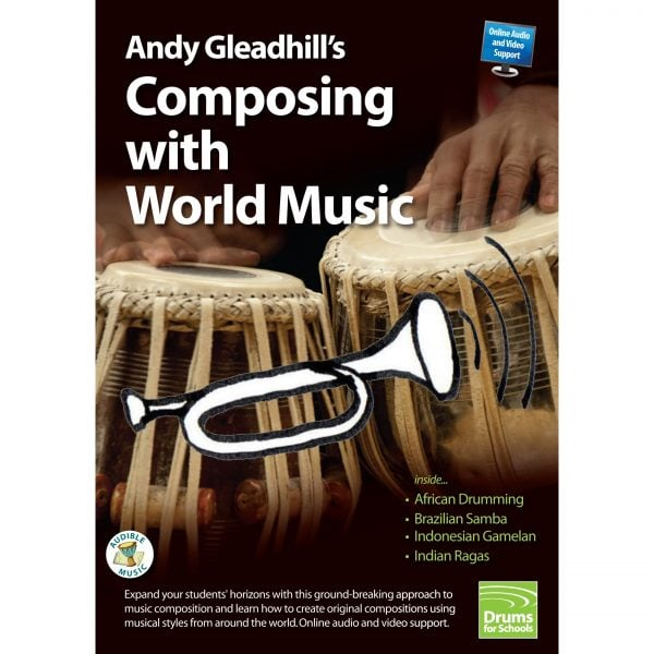 Andy Gleadhills Composing with World Music Book audio cover