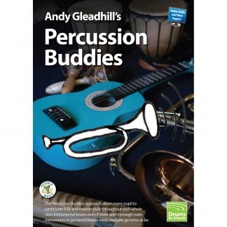 Andy Gleadhills Percussion Buddies Book audio cover