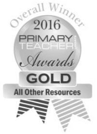"Overall Winner ""All Other Resources"" 2016 Primary Teacher Awards GOLD"