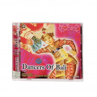 This is a product image of the case for the Dancers of Bali: Part 1 CD.