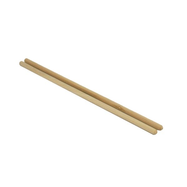 This is a product image of the Snare Drum Sticks for Caixa or Repinique. There are two sticks laid flat which are angled to the right.