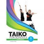 This is a product image of the front cover of Jonathan Kirby's Taiko Drumming Book.