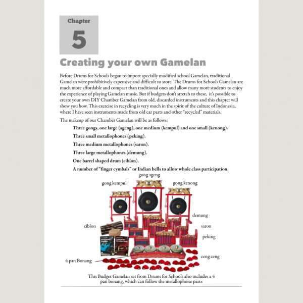 Image showing Creating Your Own Gamelan from Andy Gleadhill's Indonesian Gamelan Book